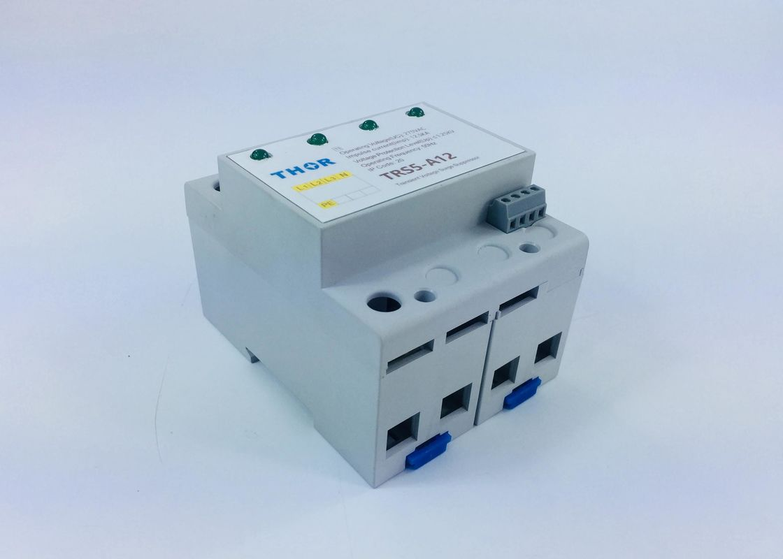 Outdoor Type 1 Surge Protection Device Total Width 72mm Against Lightning Fluctuations