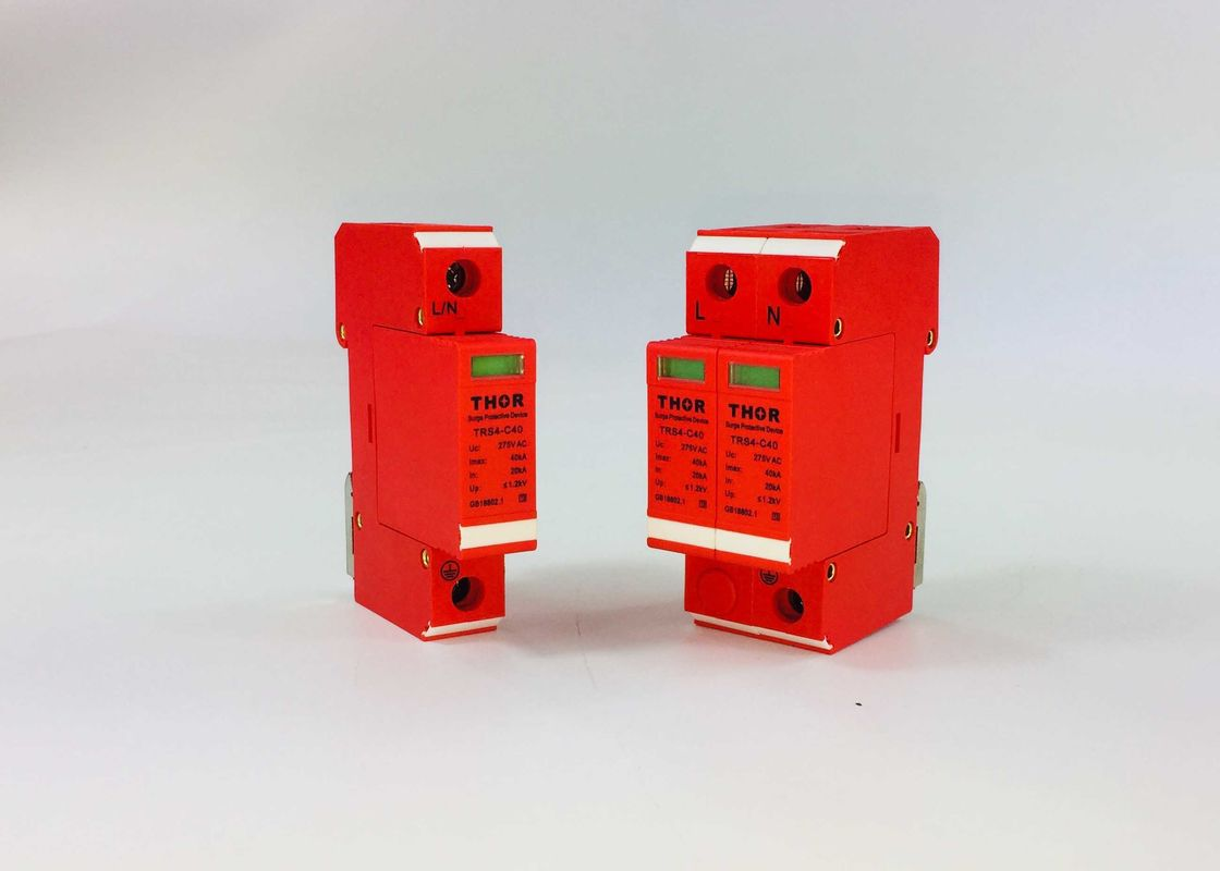 First Class Electrical Surge Protection Devices 220V 40KA Self Protection Voltage