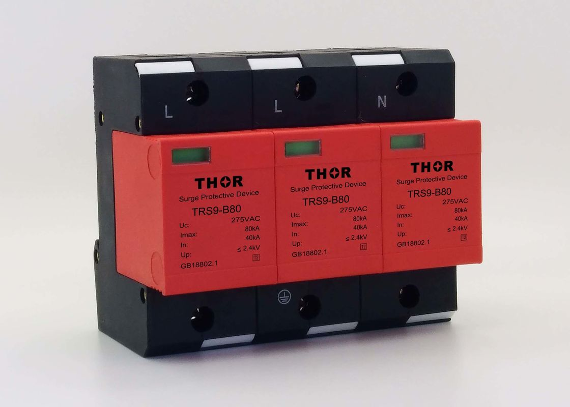 440V 80KA Type 2 Surge Protection Device Fire Retardant Stable Performance