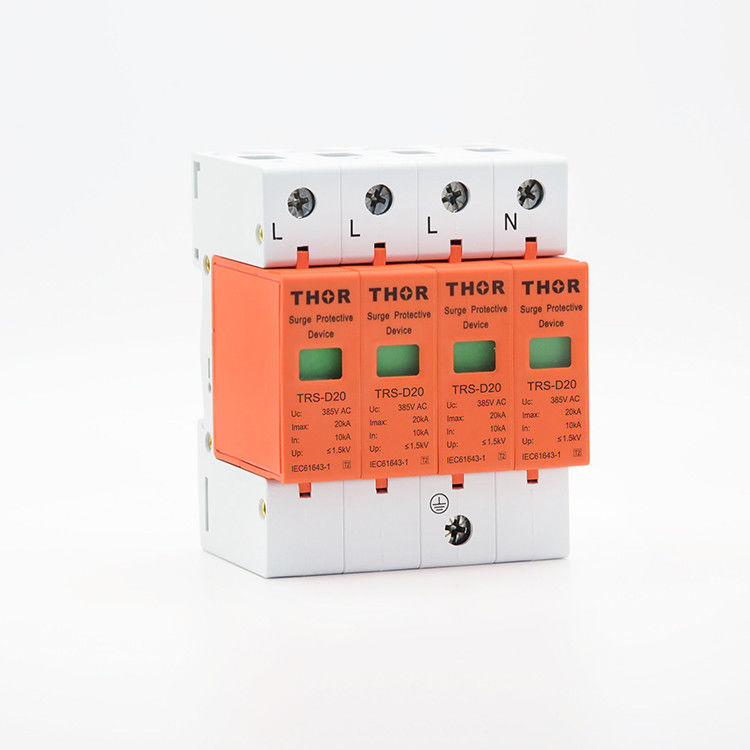 Surge voltage limiters 220V appliance surge protector 20KA SPD