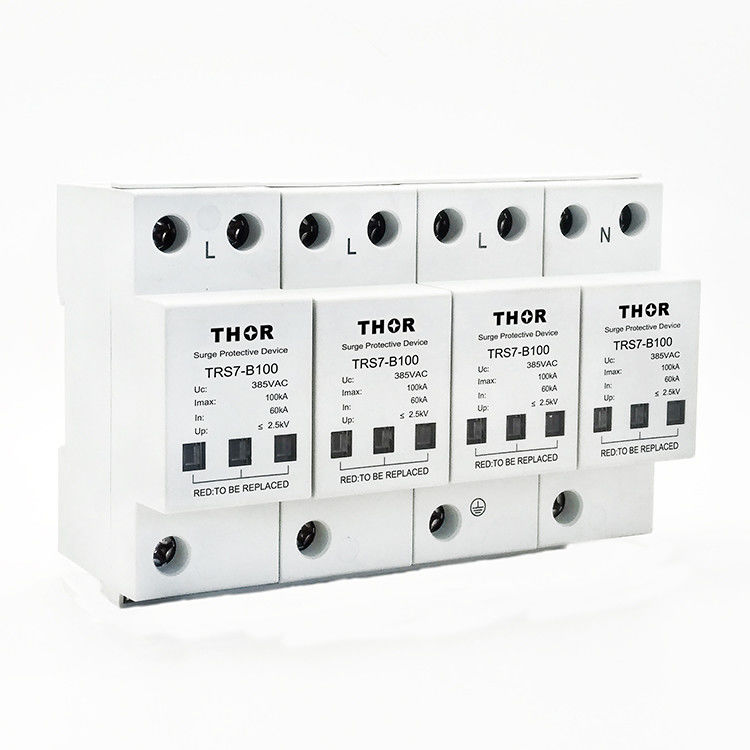 100KA lightning surge arrester surge suppressor electrical surge protective device spd